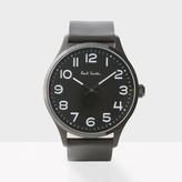 Paul Smith Men's Black 'Tempo' Watch