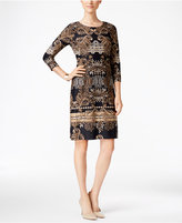Charter Club Paisley-Print Shift Dress, Only at Macy's
