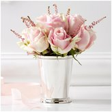 Twos Company Two's Company McKenzie Mint Julep Cup Vase - Silver
