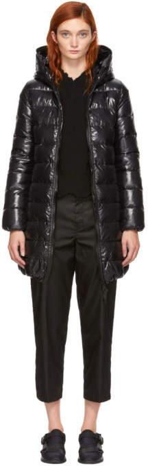 Duvetica Black Down Shiny Ace Jacket