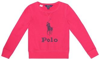 Polo Ralph Lauren Kids Cotton-blend jersey top