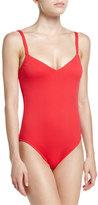 Seafolly Goddess V-Neck One-Piece Swimsuit