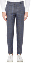 Brooklyn Tailors Men's Unstructured Trousers-BLUE, GREY