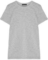 ATM Anthony Thomas Melillo Schoolboy Slub Cotton-blend Jersey T-shirt - Light gray