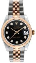 Rolex Datejust 31MM Steel and Rose Gold with Diamond Dial