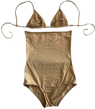 Eres Beige Swimwear for Women