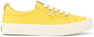 Cariuma OCA Low Yellow Canvas Sneaker