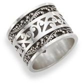 Lois Hill Sterling Silver Lacework Ring