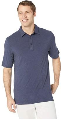 Straight Down Cruz Polo (Indigo) Men's Short Sleeve Knit