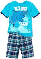 Nannette 2-Pc. Graphic-Print T-Shirt & Shorts Set, Toddler & Little Boys (2T-7)
