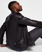 Ted Baker Leather biker jacket