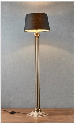 Emac & Lawton Hudson Floor Lamp Antique Brass