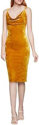 BCBGeneration Velvet Bodycon Dress