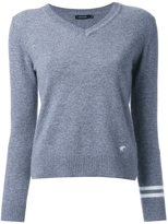 Loveless - cashmere V-neck jumper - women - Cashmere - 34
