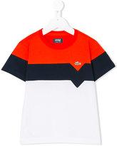 Lacoste Kids color block T-shirt
