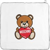Moschino Printed Doubled Cotton Jersey Blanket