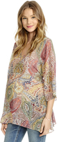 Motherhood Jessica Simpson Paisley Print Maternity Top