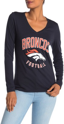 '47 NFL Denver Broncos Long Sleeve Graphic T-Shirt
