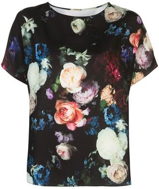 Adam Lippes Floral Print Blouse