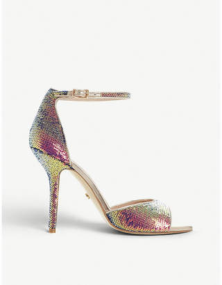 Dune Millionaire sequinned heeled sandals