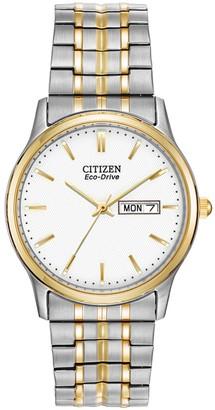 Citizen Men's Eco-Drive Two-Tone Expansion Watch, 30mm