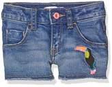 Billieblush Girl's Denim Shorts,(Manufacturer Size:02A)