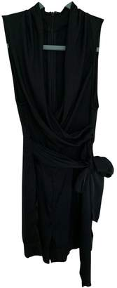 Catherine Malandrino Black Silk Jumpsuit for Women