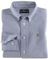 Ralph Lauren Boys 2-7 Long-Sleeved Oxford Sport Shirt
