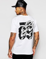 Carhartt Flame T-shirt With Back Print - White