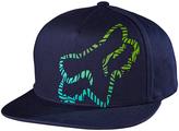 Fox Indigo Logo Complex Snapback Baseball Cap