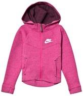 Nike Pink Tech Fleece Hoodie