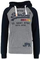 Superdry Shop Surf Raglan Hoodie Cliff Face Grey Snowy