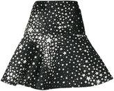 RED Valentino star pattern A-line skirt