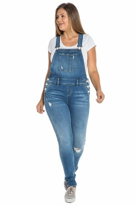 SLINK Jeans The Overall Pants in Tessa Size 14