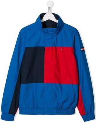 Tommy Hilfiger Junior TEEN reversible track jacket