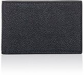 Thom Browne Men's ID Card Case-BLACK