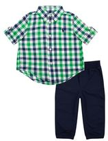 Polo Ralph Lauren Checked Shirt Jogger Set