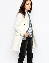 Maison Scotch Classic Wool Captain's Coat