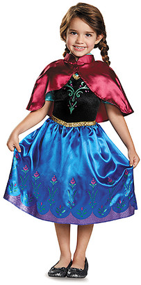 Disguise Girls' Costume Outfits - Frozen Anna Classic Traveling Dress-Up Set - Girls