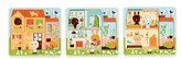 Djeco Toddler 3-Layers Wooden Chez-Carot Puzzle