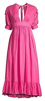 Carolina K. Women's Greta Midi A-Line Dress