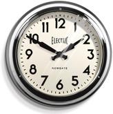 Newgate Clocks - Large Electric Clock - Chrome