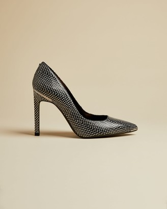 Ted Baker Embossed Snake Effect Leather Courts