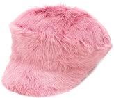 Prada furry cap