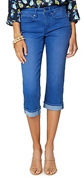 NYDJ Marilyn Cropped Cuff Jeans in Morena