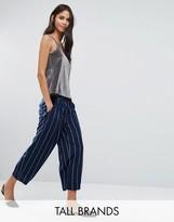 Y.A.S Tall Sheim Awkward Length Pinstripe Pant Co-Ord