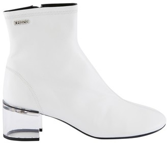 Kenzo K-Round high heel ankle boots