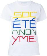 Societe Anonyme 'Da Sa' T-shirt - women - Cotton - S