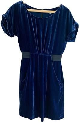 Twelfth St. By Cynthia Vincent Blue Velvet Dress for Women