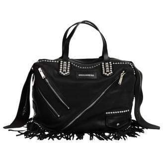 DSQUARED2 Black Leather Bags